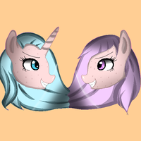 Commisson S and L pixel by SketchyTheUnicorn