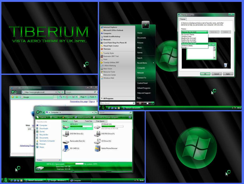 Tiberium Aero Theme for Vista