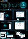Neon Nebular 32bit Vista Theme
