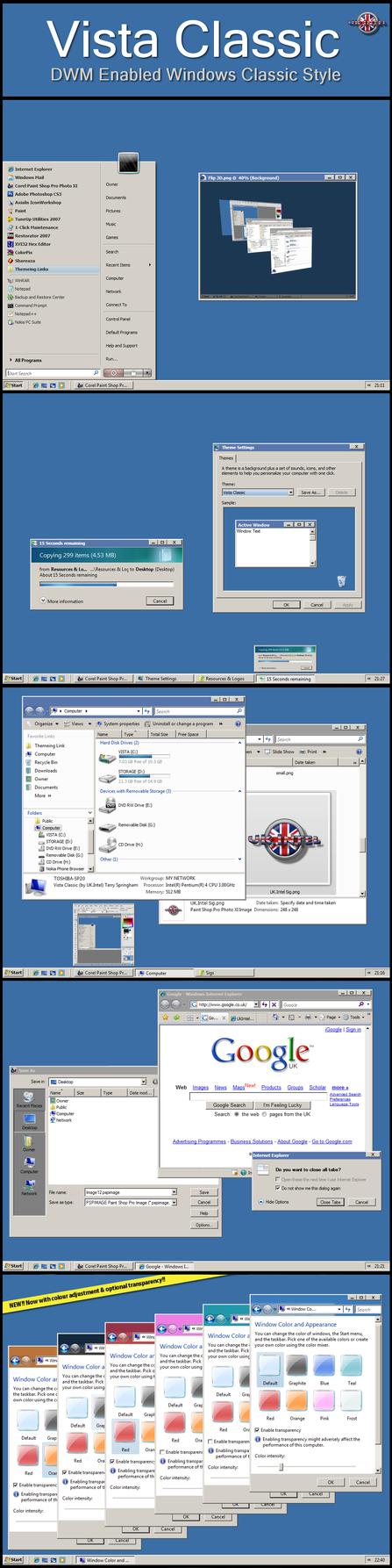 Vista Classic - BETA 2.6 by UkIntel