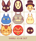 Ghibli - Icon Set (FREE) by runmry