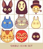 Ghibli - Icon Set (FREE) by runmry