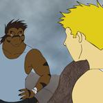 Fate Saga: Guile vs Mortar by neo-dragon
