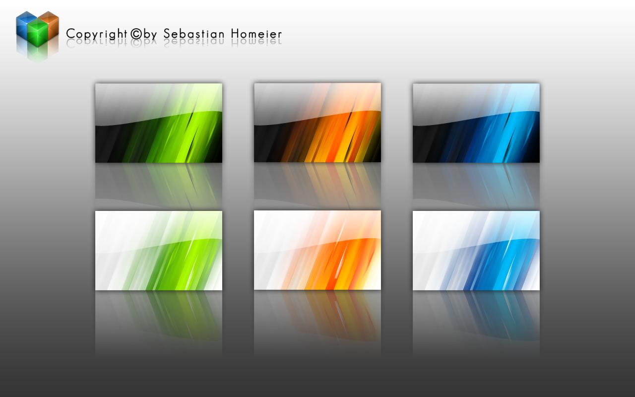 Abstract Wallpaper Set V1 By Basti93