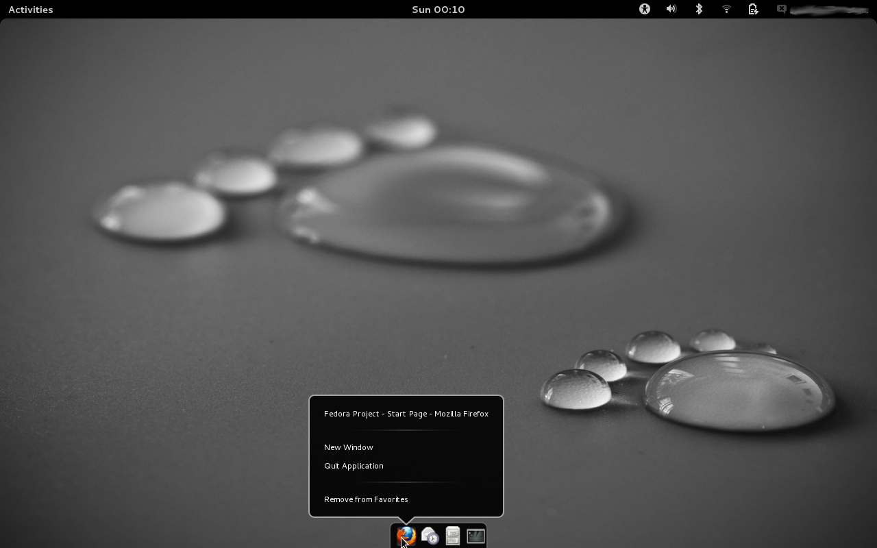 Dock Gnome Extension on Bottom (Gnome 3.4) by xeXpanderx