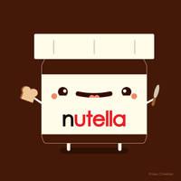 Happy Nutella Guy by RoseyCheekes