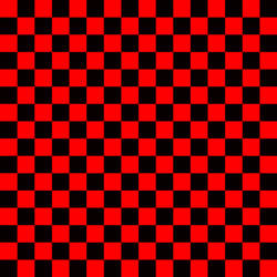 black red squares