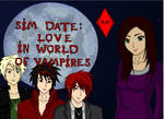 Sim Date : Love In World Of Vampires