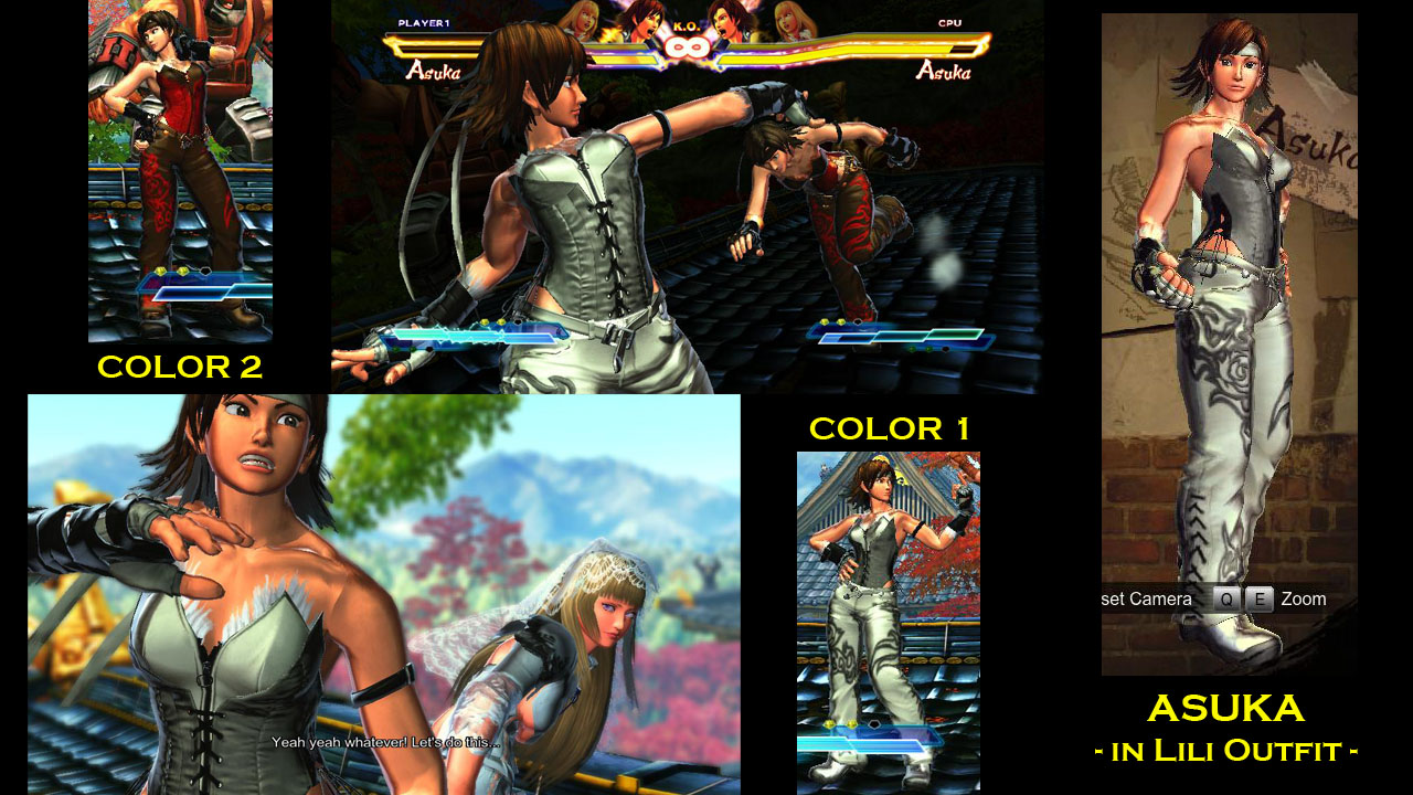 Lili with Asuka Clothes下载_V1.0版本_铁拳7 Mod下载-3DM MOD站