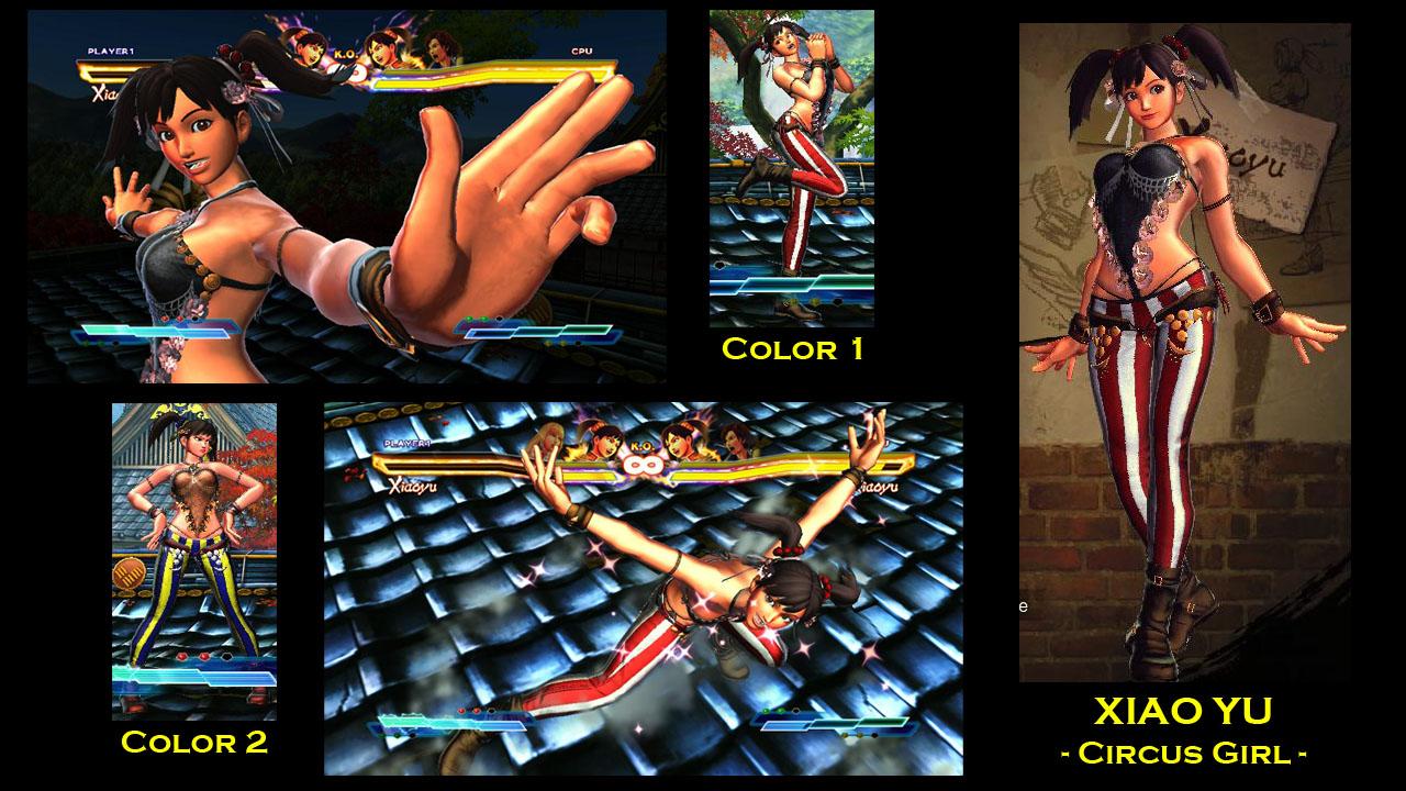 SFxT Mod: Xiaoyu - Circus Girl by moedjoer