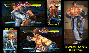SFxT Mod: Hwoarang - Jin's rival