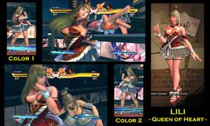 SFxT Mod: Lili - Queen of Heart