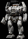 MWO Charger repaint template