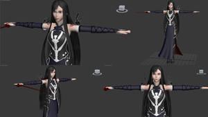 Castlevania Shanoa (Needs to be rigged)