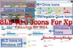 8LD v2.0 Icons For Xp By BSA by BHASKARSAINIALUDIYA