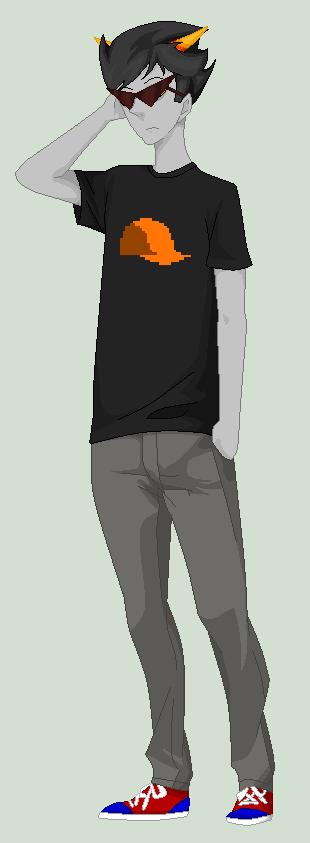 Troll Dirk with shades