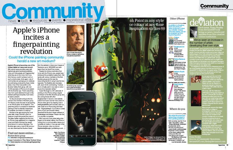 Digital Artist Magazine Nov 09 by fourteenthstar