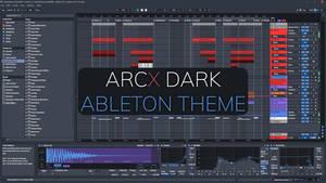 ARCX Dark - Ableton Live 10 Theme