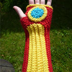 Pattern - Iron Man handwarmers by Kottdjur