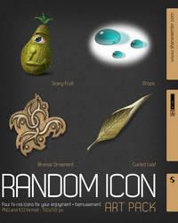 Random Icon Art Pack by shanesemler