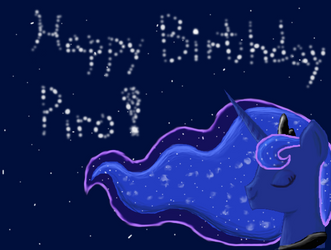 Birthday drawing for LimreiArt(Piro)