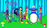 Rayman and characters from Vivzmind and Daniela-3