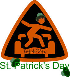 St. Pat's Day Triangle CouchSurfing Logo by theinfamousj