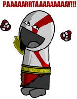 Kratos test by Madmanaryf