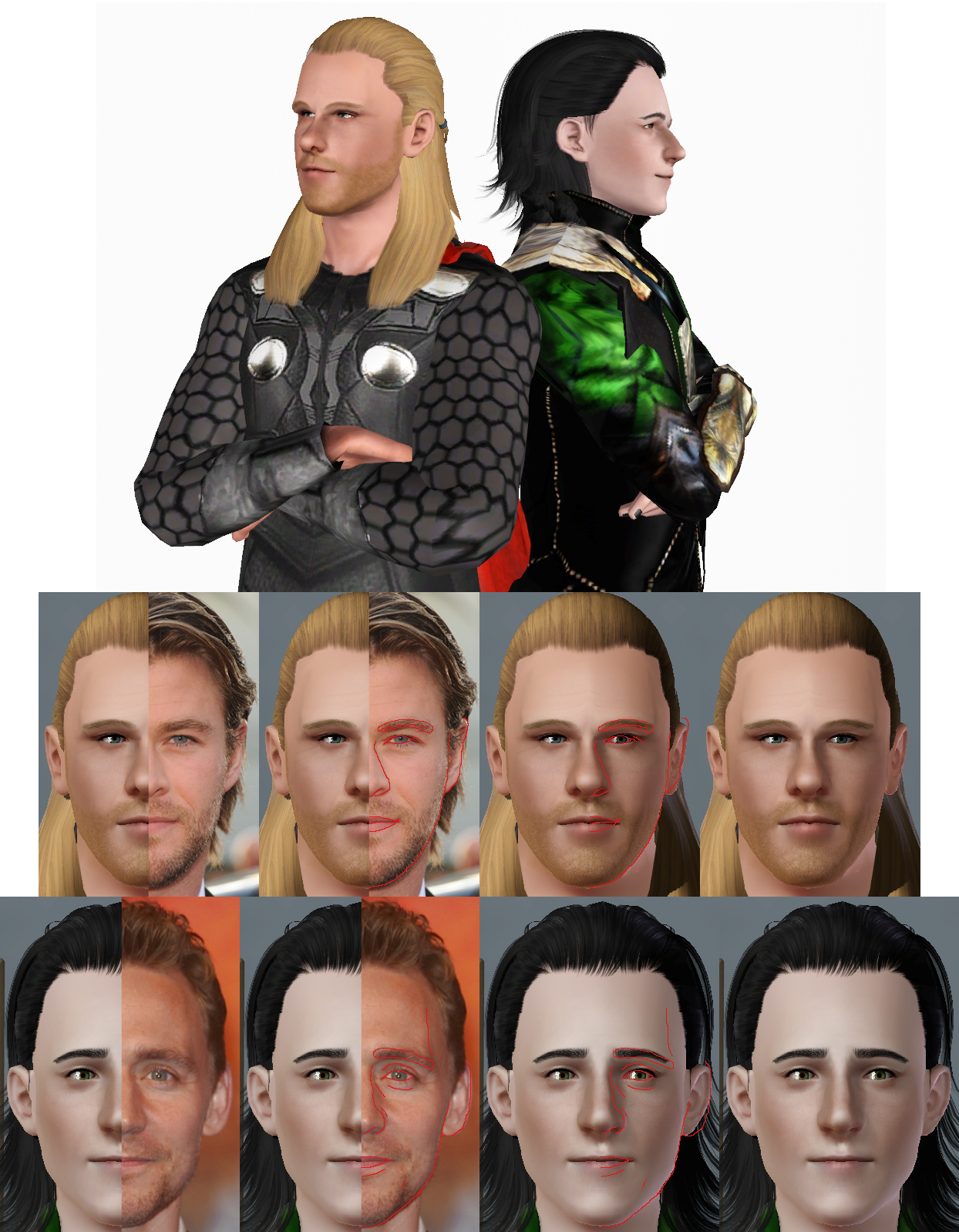 Thor Loki Sims Oneeuromutt Deviantart