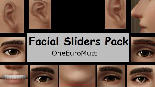 Facial Sliders Pack