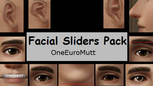 Facial Sliders Pack