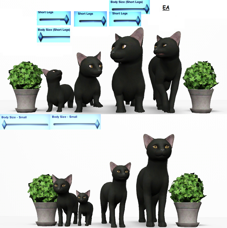 sims 3 how to make sliders work