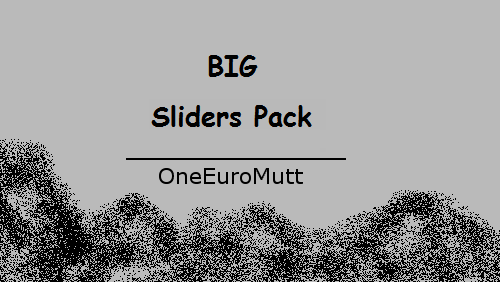 Big Slider Pack