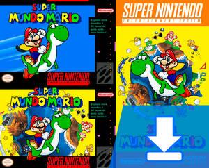 Super Mario World PT-BR Boxarts