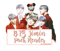 BTS Jimin Render Pack by taeshxxx004