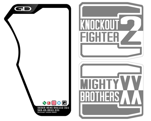Ex-Aid - Double Gashat Label Template