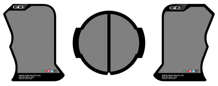 Ex-Aid - Gashat Gear Dual Label Template