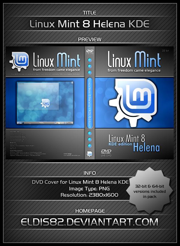 Linux Mint 8 Helena - KDE by elddes