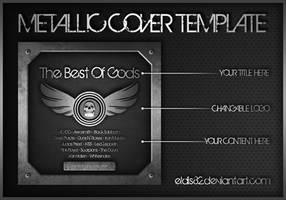 Metallic CD Cover Template