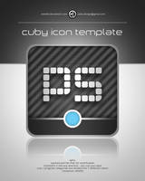 Cuby Icon Template by elddes