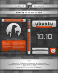 Ubuntu 10.10 Cubey Dark