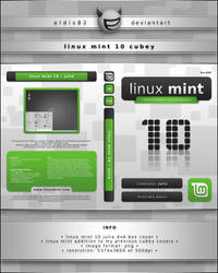 Linux Mint 10 Cubey by elddes