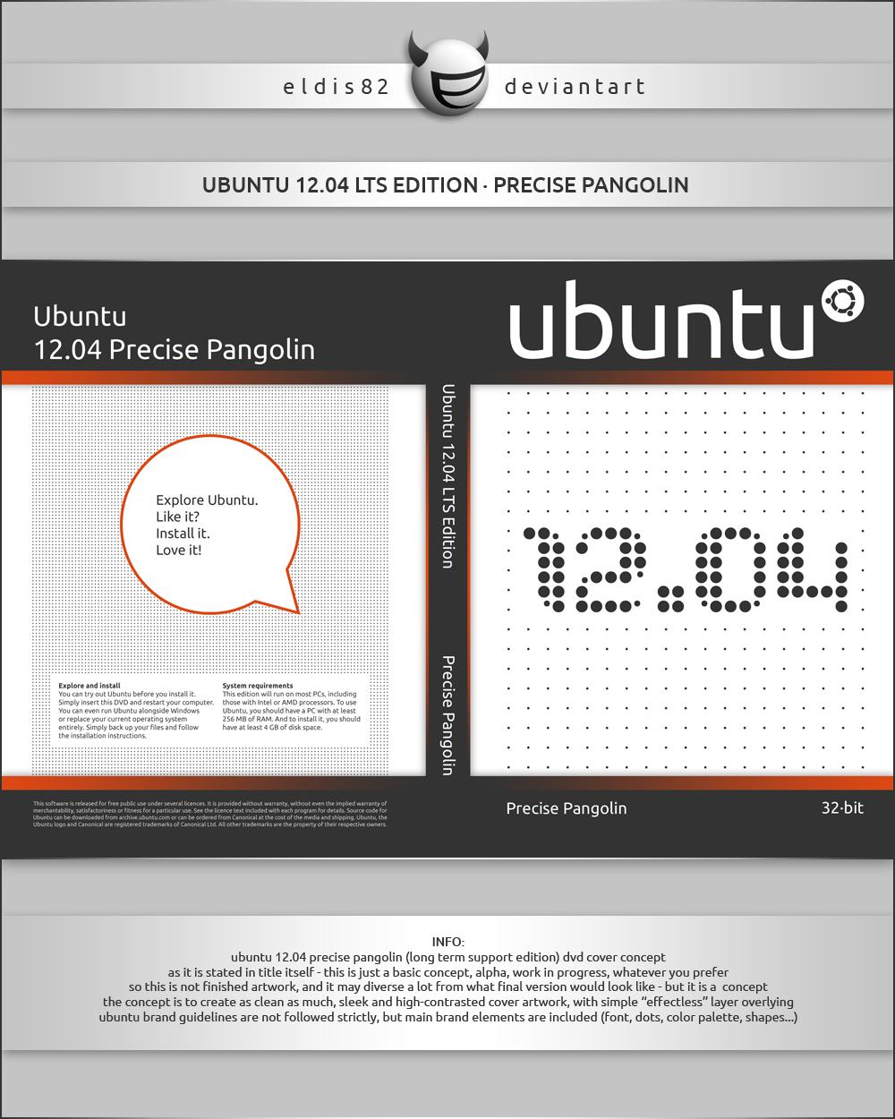 Ubuntu 12.04 Precise Pangolin WIP