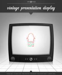 Vintage Presentation Display by theeldis