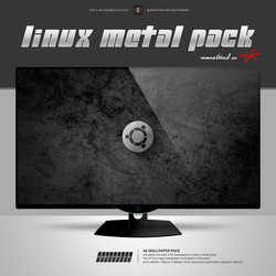 Linux Metal 4K by theeldis
