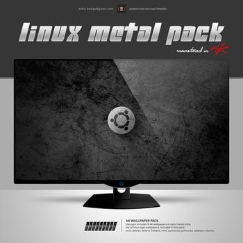 Linux Metal 4K by theeldis
