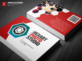 Photo Studio Business Card Template