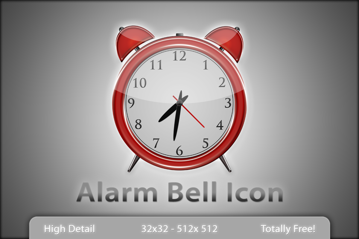 Alarm Bell Icon by Lukasiniho