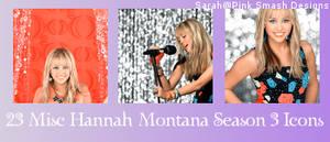 Hannah Montana Icon Bases
