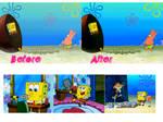 Spongebob Squarepants PSD